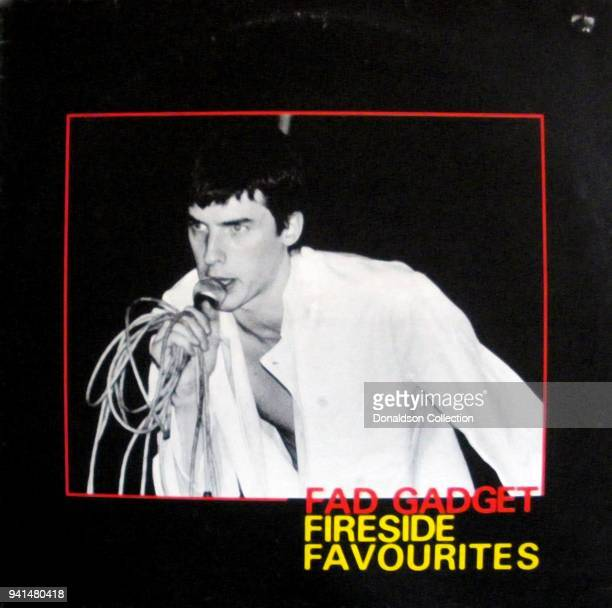 Fad Gadget 'Fireside Favourites' album cover which was released in 1980