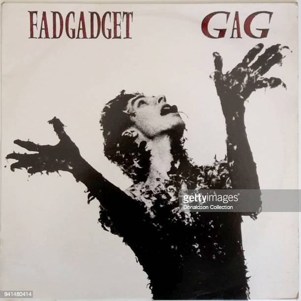 Fad Gadget 'Gag' album cover which was released in 1984