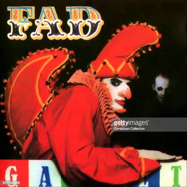 Fad Gadget 'Incontinent' album cover which was released in 1981