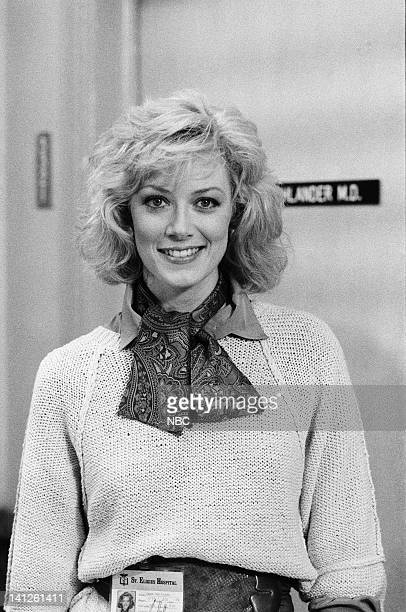 ST ELSEWHERE Fade to White Episode 7 Pictured Nancy Stafford as Joan Halloran Photo by Jack Hamilton/NBCU Photo Bank