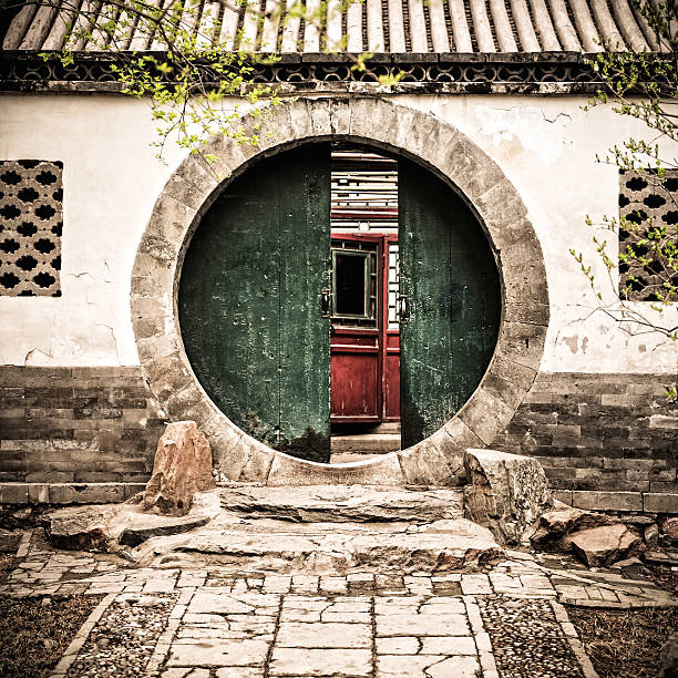 Old Gate in Beijing, China