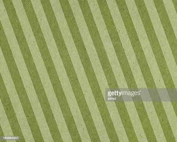 Verblichenes Grün gestreiften Papier mit Halbton