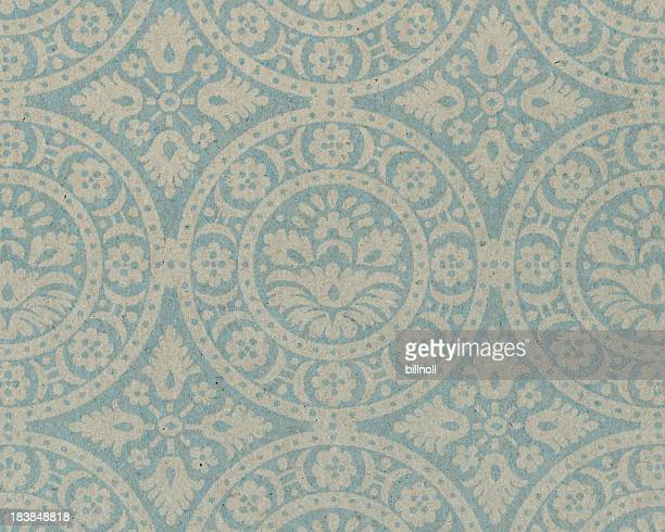 faded paper with ornamental pattern