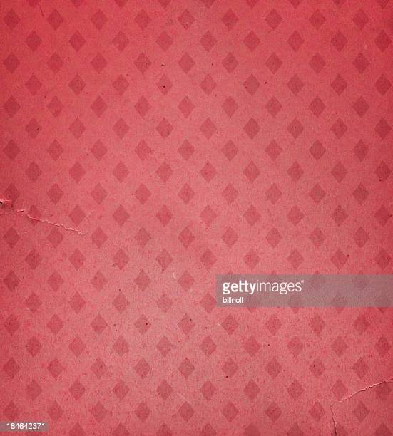faded wallpaper with diamond pattern