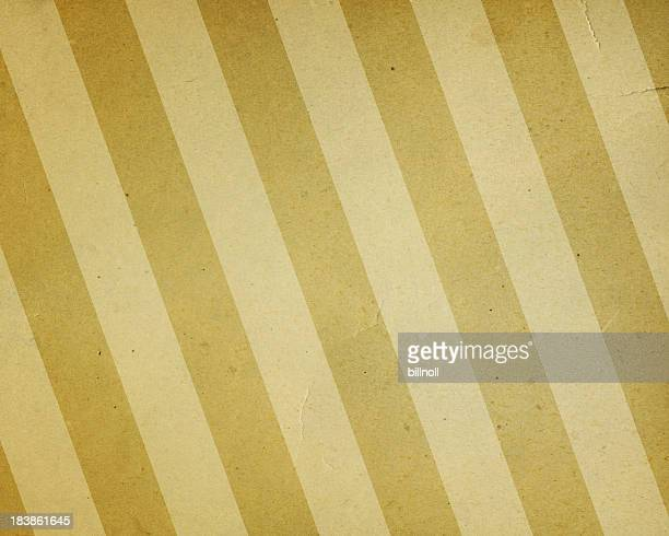 faded yellow and beige striped paper