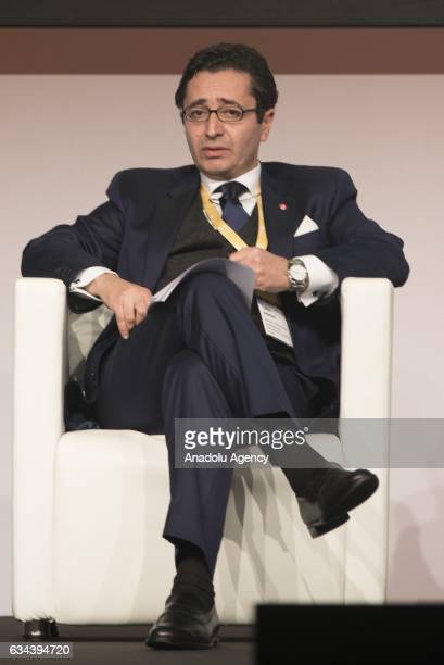 Fadhel Abdelkefi, Tunisian Minister of Development, Investment and International Cooperation, attends the EY Strategic Growth Forum Mediterranean in...