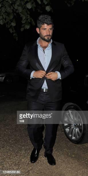 Fadi Fawaz arrives home on June 18 2012 in London England