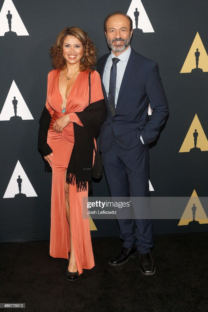 Fadia Afashe and Jay Abdo attend the Academy of Motion Picture Arts And Sciences 44th Student Academy Awards at Samuel Goldwyn Theater on October 12, 2017 in Beverly Hills, California.