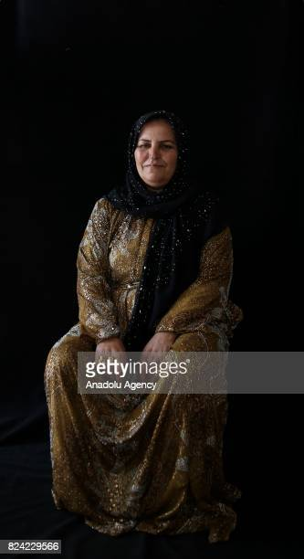 Fadime Arslan hosts her relatives who escaped from Tell Abyad district of Syria's Raqqa province due to the 6yearlong ongoing Syrian civil war poses...
