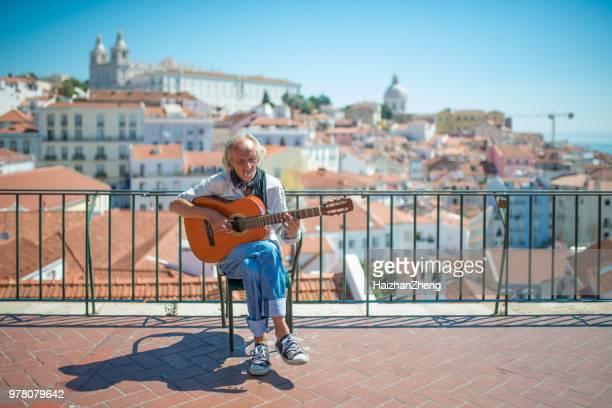 Fado-Musiker in Lissabon