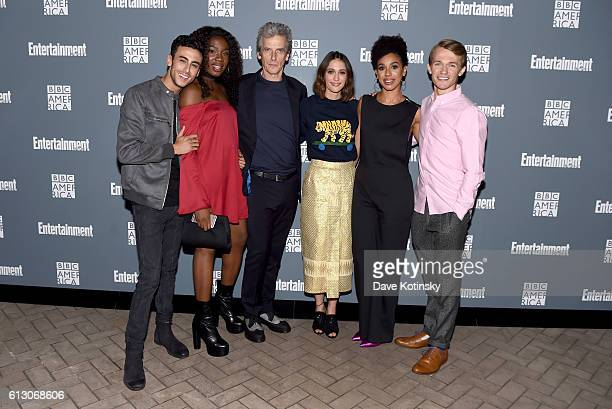 Fady Elsayed Vivan Oparah Peter Capaldi Sophie Hopkins Pearl Mackie and Greg Austin attend EW Hosts An Evening With BBC America on October 6 2016 in...