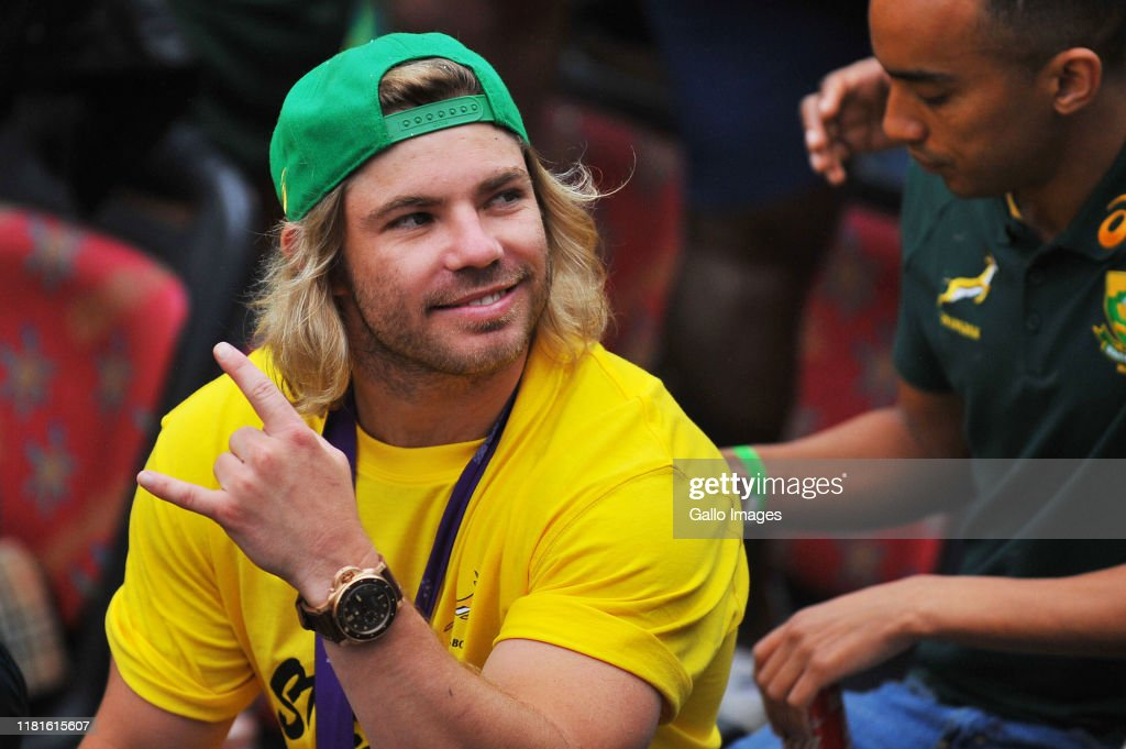 South Africa Rugby World Cup Victory Tour : ニュース写真