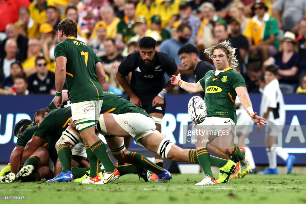 New Zealand v South Africa - Rugby Championship : News Photo