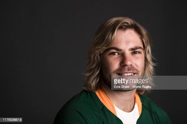 Faf de Klerk of South Africa poses for a portrait during the South Africa Rugby World Cup 2019 squad photo call on September 15 2019 in Tokyo Japan