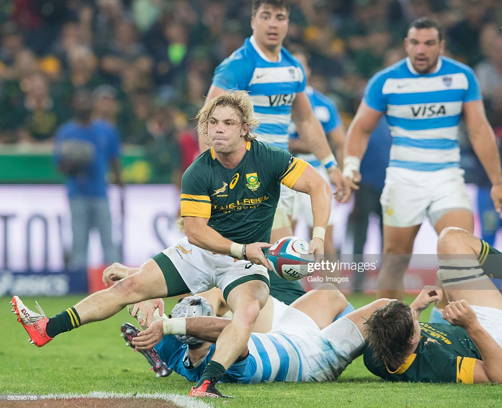 The Rugby Championship: South Africa v Argentina : News Photo