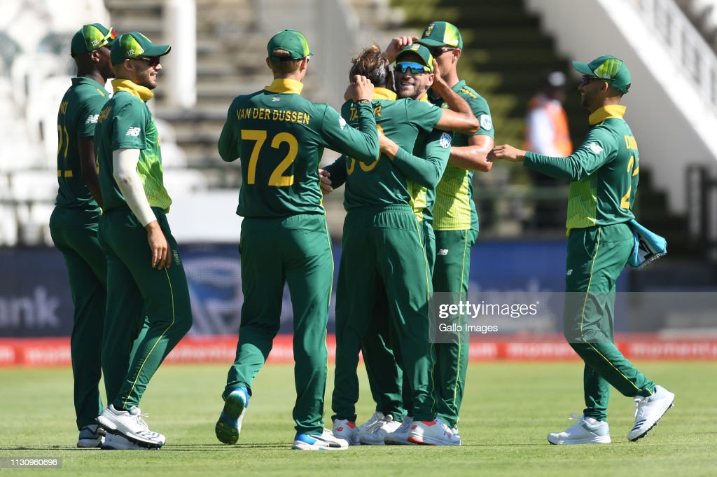 South Africa v Sri Lanka- One Day International : News Photo