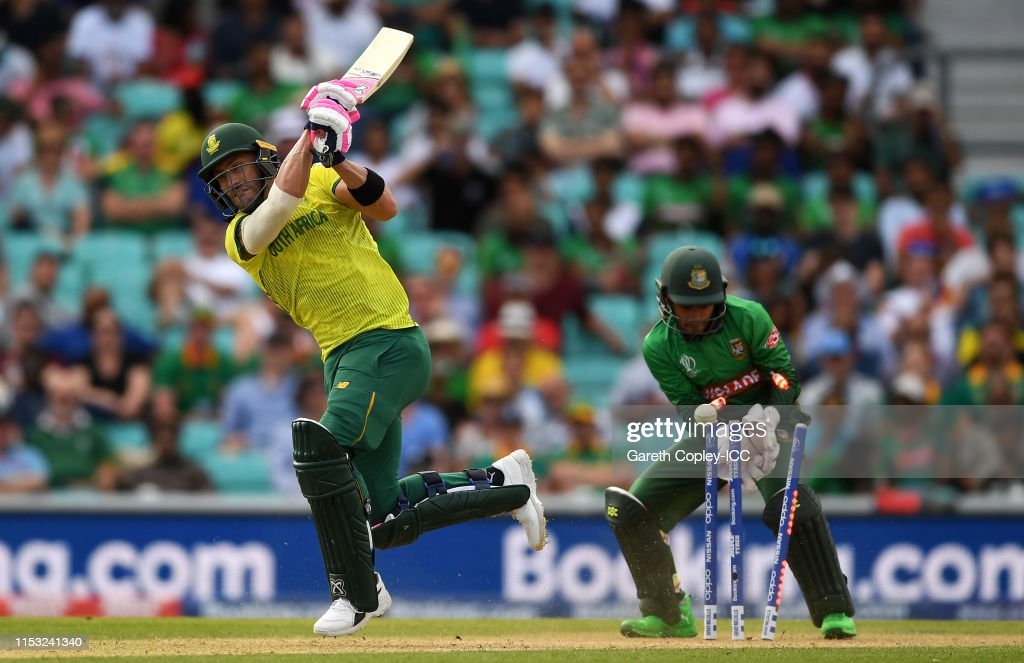 South Africa v Bangladesh - ICC Cricket World Cup 2019 : Foto jornalística