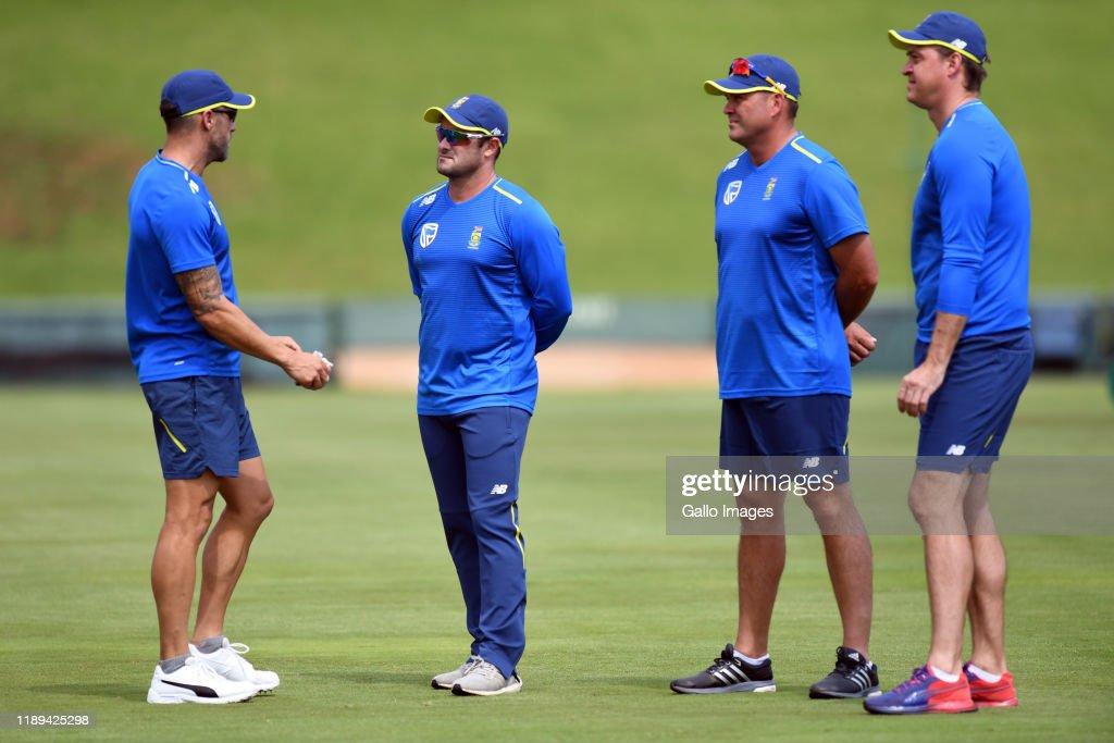 England Tour to SA: South Africa Training Session : News Photo