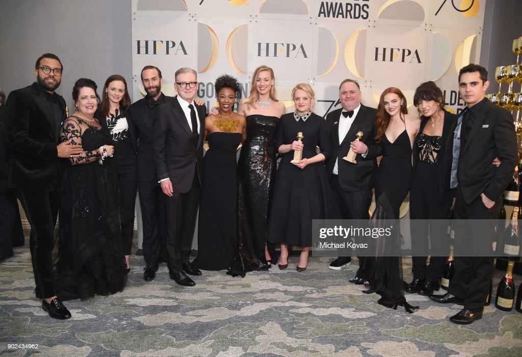Moet & Chandon At The 75th Annual Golden Globe Awards - Backstage
