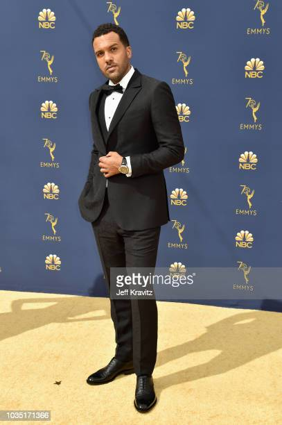 O T Fagbenle attends the 70th Emmy Awards at Microsoft Theater on September 17 2018 in Los Angeles California