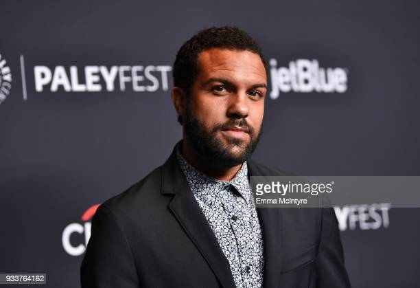 O T Fagbenle attends The Paley Center For Media's 35th Annual PaleyFest Los Angeles with The Handmaid's Tale at Dolby Theatre on March 18 2018 in...