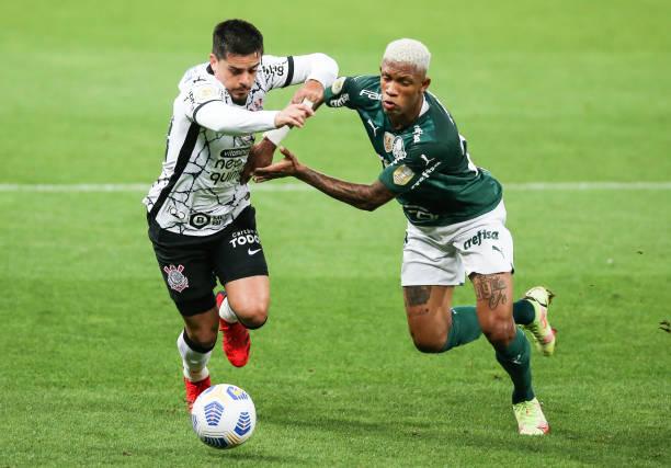 BRA: Corinthians v Palmeiras- Brasileirao 2021
