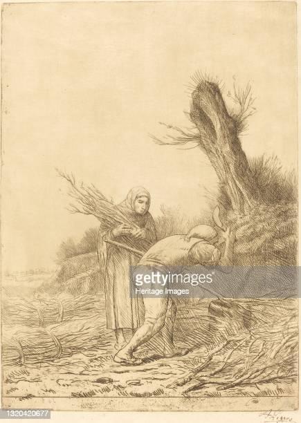 Fagot-makers . Artist Alphonse Legros.