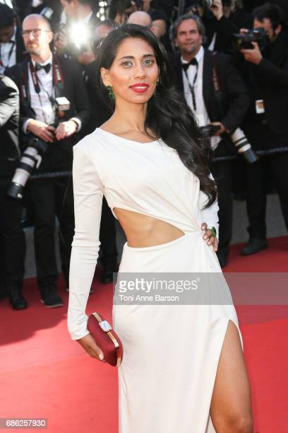 Fagun Ivy Thakrar attends the '120 Battements Par Minutes ' screening during the 70th annual Cannes Film Festival at Palais des Festivals on May 20...