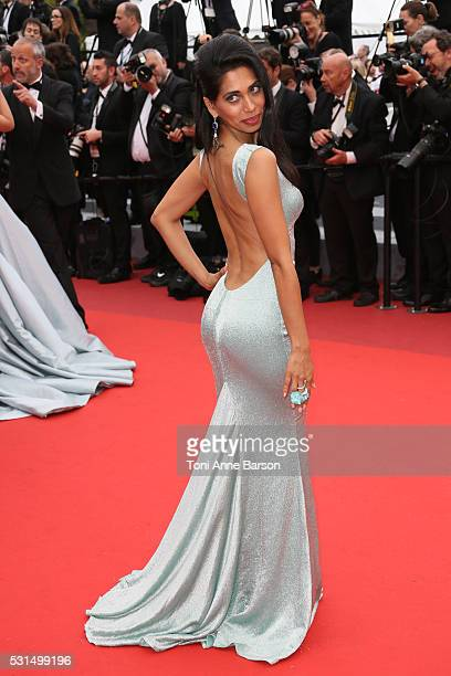 """Fagun Thakrar attends a screening of """"The BFG"""" at the annual 69th Cannes Film Festival at Palais des Festivals on May 14, 2016 in Cannes, France."""
