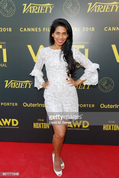 Fagun Thakrar attends as WIFT International with Variety Alliance of Women Directors host a cocktail party during the 71st Cannes Film Festival...