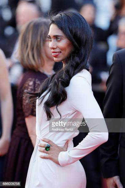 Fagun Thakrar attends the '120 Beats Per Minute ' screening during the 70th annual Cannes Film Festival at Palais des Festivals on May 20 2017 in...