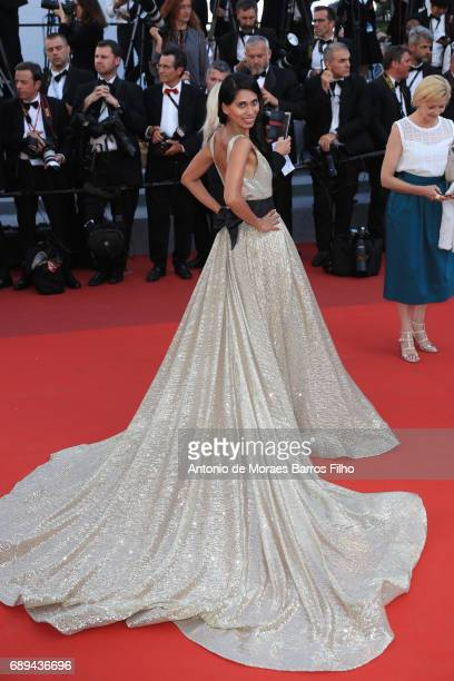 Fagun Thakrar attends the Closing Ceremony during the 70th annual Cannes Film Festival at Palais des Festivals on May 28 2017 in Cannes France