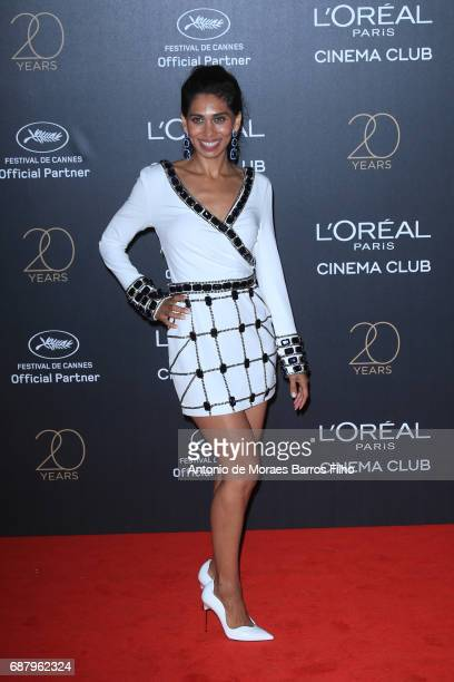 Fagun Thakrar attends the Gala 20th Birthday Of L'Oreal In Cannes during the 70th annual Cannes Film Festival at Hotel Martinez on May 24 2017 in...