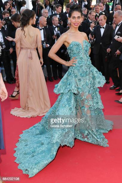 Fagun Thakrar attends the 'Ismael's Ghosts ' screening and Opening Gala during the 70th annual Cannes Film Festival at Palais des Festivals on May 17...