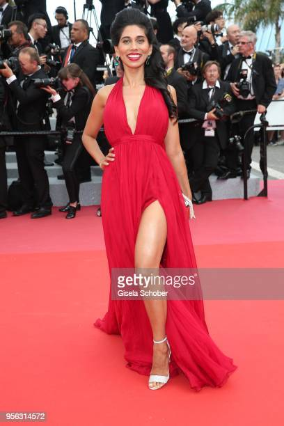 Fagun Thakrar attends the screening of 'Everybody Knows ' and the opening gala during the 71st annual Cannes Film Festival at Palais des Festivals on...