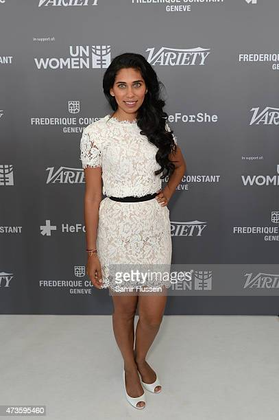 Fagun Thakrar attends Variety celebrates UN Women at 68th Cannes Film Festival at Radisson Blu on May 16 2015 in Cannes France