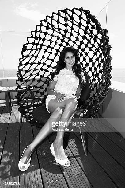 Fagun Thakrar poses for a portrait during the 68th annual Cannes Film Festival on May 17 2015 in Cannes France