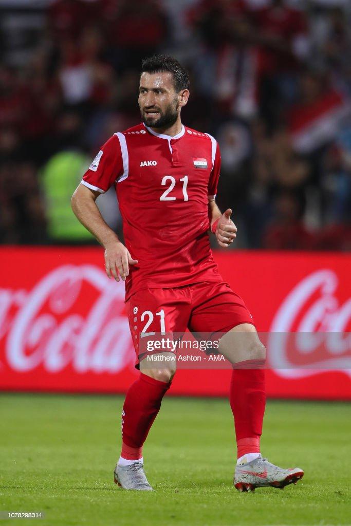 Syria v Palestine - AFC Asian Cup Group B : ニュース写真