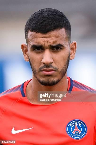 Fahd El Khoumisti of Paris Saint Germain during the National 2 match between Paris Saint Germain B and Chasselay on September 2nd 2017 in Paris France