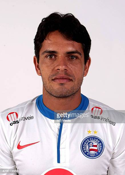 Fahel of Esporte Clube Bahia poses during a portrait session August 14 2014 in SalvadorBrazil
