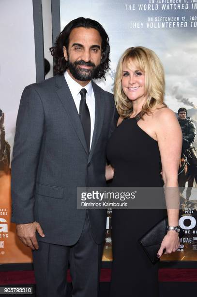 Fahim Fazli attends the world premiere of '12 Strong' at Jazz at Lincoln Center on January 16 2018 in New York City