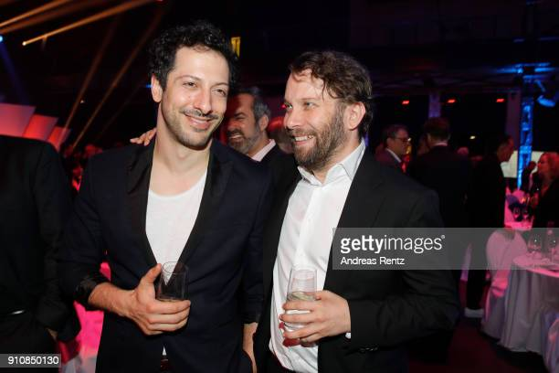 Fahri Yardim and Christian Ulmen attend the German Television Award at Palladium on January 26 2018 in Cologne Germany