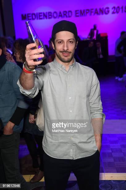 Fahri Yardim attends the Medienboard BerlinBrandenburg Reception during the 68th Berlinale International Film Festival Berlin at on February 17 2018...