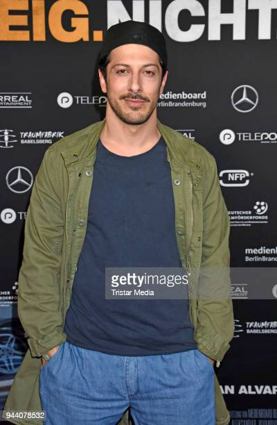 Fahri Yardim attends the 'Steig Nicht Aus' Premiere on April 9 2018 in Berlin Germany