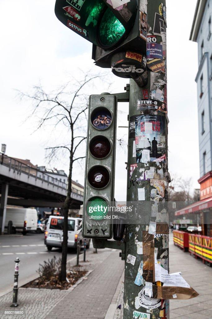 Fahrradampel In Berlin Kreuzberg News Photo Getty Images