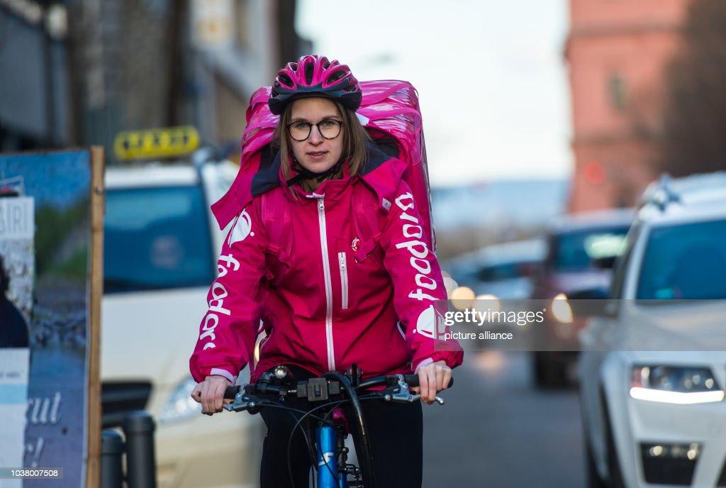 Foodora Fahrradkurier