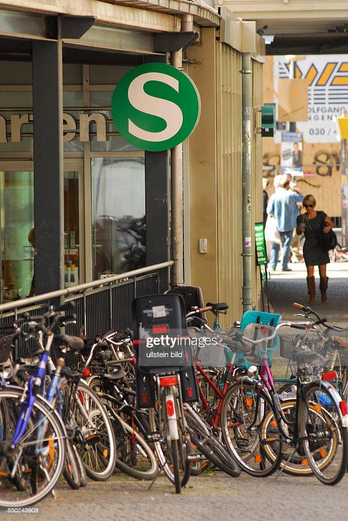 Fahrräder als Alternative zu den Zugausfällen bei der S