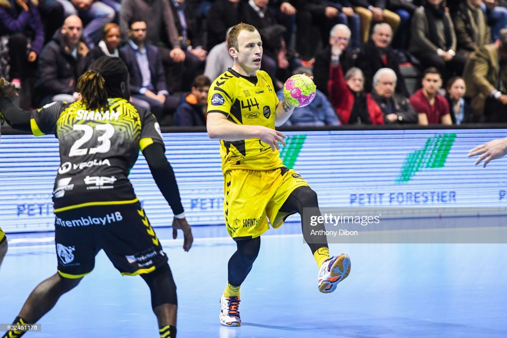 Tremblay v Chambery - Lidl Starligue : ニュース写真