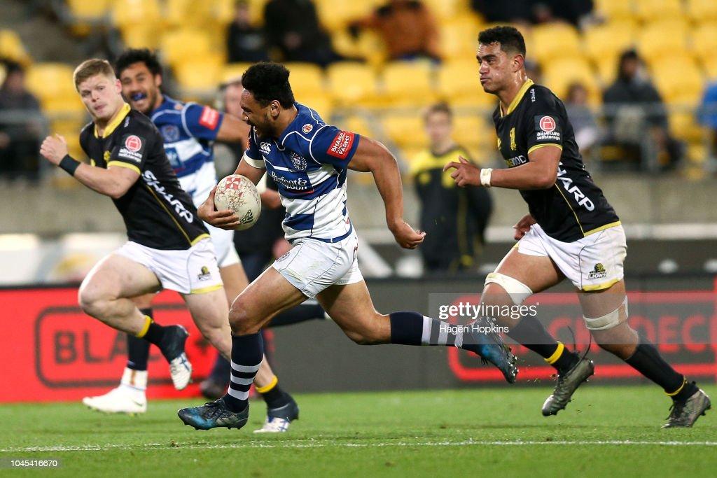 Mitre 10 Cup Rd 8 - Wellington v Auckland : News Photo