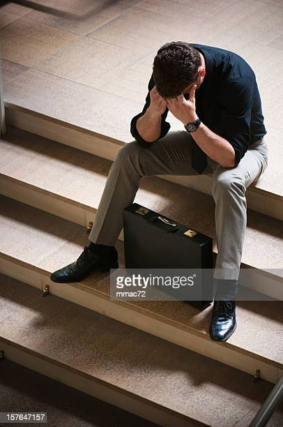 failure of a business man - distressed stock market people stock pictures, royalty-free photos & images